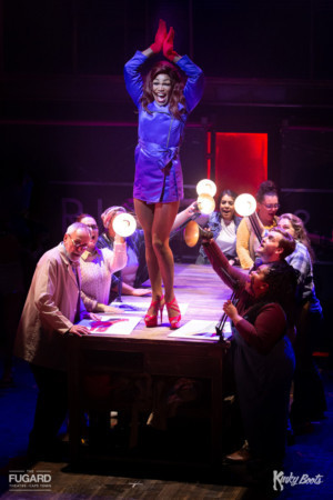 KINKY BOOTS Extends at the Fugard Theatre