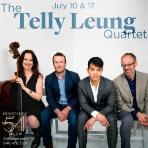 Telly Leung Will Return To Feinstein's/54 Below This July