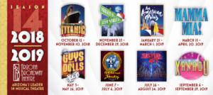 Arizona Broadway Theatre 2019-2020 Concert Series Announced