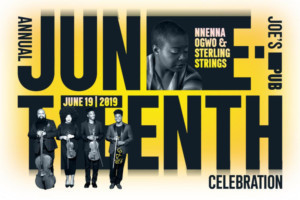 Pianist/Composer Dr. Nnenna Ogwo Returns To Joe's Pub For Annual Juneteenth Celebration