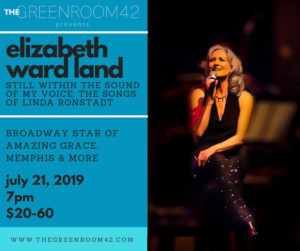 Elizabeth Ward Land To Debut STILL WITHIN THE SOUND OF MY VOICE: THE SONGS OF LINDA RONSTADT At The Green Room 42