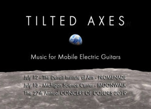 Tilted Axes: Music For Mobile Electric Guitars Performs At The 27th Annual Concert Of Colors