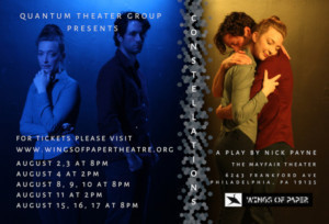 Quantum Theater Group & Wings Of Paper Theatre Co. Present CONSTELLATIONS