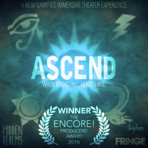 Hidden Realms' ASCEND Receives The Encore! Producers' Award And Extends