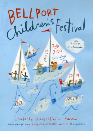 Bellport Children's Festival Announces Return to Isabella Rossellini's Farm