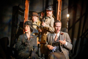 THE 39 STEPS Opens At Saint Michael's Playhouse