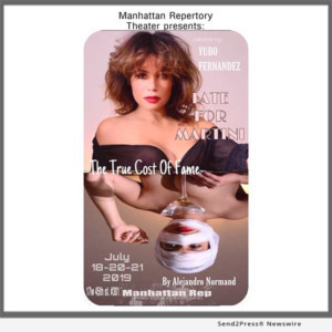 Actress Yubo Fernandez Presents LATE FOR MARTINIS As Part of Summer Play Celebration At Manhattan Repertory Theater