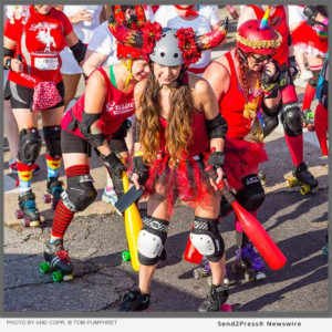 Running Of The RollerBulls Gets Lucky For 13th Edition In New Orleans