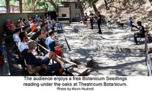 Botanicum Seedlings Presents Free Readings Of New Plays Outdoors In Topanga