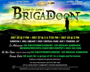 Little Radical Theatrics Presents BRIGADOON