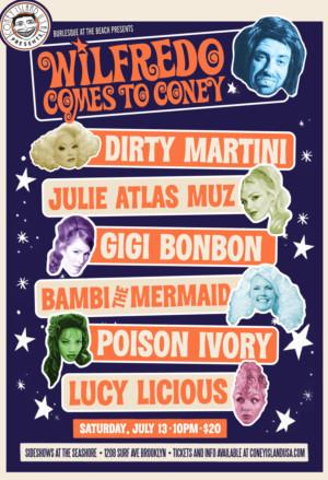 Matt Roper Announces Wilfredo Summer Show At Coney Island USA