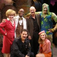 Photo Flash: Legendary Bass Guitarist Tony Levin Visits 'THE TOXIC AVENGER'