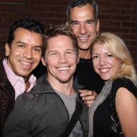 Photo Flash: Mitchell, Trujillo & Devine Visit NYMF's UNDER FIRE