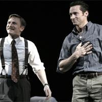Photo Flashback: A STEADY RAIN Starring Jackman & Craig Opening Night Curtain Call
