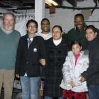 Photo Coverage: SUPERIOR DONUTS Greets Francisco Hernandez and Family