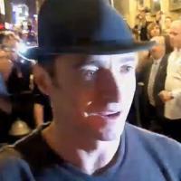 STAGE TUBE: A STEADY RAIN Star Hugh Jackman - Stage Door Story