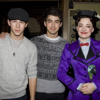 Photo Flash: Jonas Brothers Take in MARY POPPINS