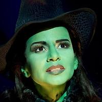 Photo Flash: Mandy Gonzalez as Elphaba!