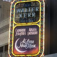 Photo Coverage: A LITTLE NIGHT MUSIC Marquee Unveiled at The Walter Kerr