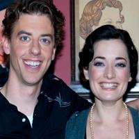 Photo Coverage: MARY POPPINS Stars Laura Michelle Kelly and Christian Borle Meet the Press at Sardi's