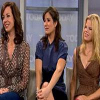 STAGE TUBE: The '9 to 5' Gals Visit The Today Show