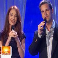 BWW TV: Broadway's Sierra Boggess And Hugh Panaro Sing On NBC's Today Show