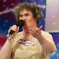 Susan Boyle & Simon Cowell Visit Oprah Winfrey Show 5/11