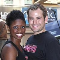 Photo Coverage: Bryan, DiPietro And The MEMPHIS Cast Celebrate Shubert Theatre Box Office Opening