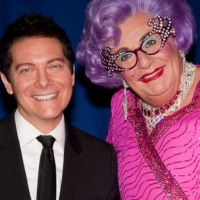 Photo Coverage: ALL ABOUT ME's Dame Edna & Michael Feinstein Meet the Press!