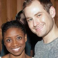 Photo Coverage: In the Recording Studio with the Cast of MEMPHIS!; Recording Available 12/11!