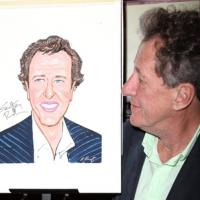 Photo Coverage: EXIT THE KING's Geoffrey Rush Joins Sardi's WALL OF FAME