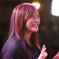 Carrie Ann Inaba Visits Cast Of BURN THE FLOOR