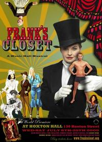 FRANK'S CLOSET Ends its Run at  London's Hoxton Hall