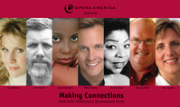 OPERA America: Making Connections 2009-2010 Begins September 30