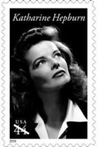 Katherine Hepburn to be Honored with 2010 Stamp