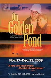 Tom McCarthy And Carla Belver Reunite in Act II Playhouse's ON GOLDEN POND, 11/17 - 12/13