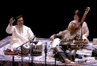 Pandit Swapan Chaudhuri & Ustad Aashish Khan Perform at REDCAT, 4/3