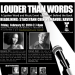 LOUDER THAN WORDS Spoken Word and Music Benefit Held 2/12