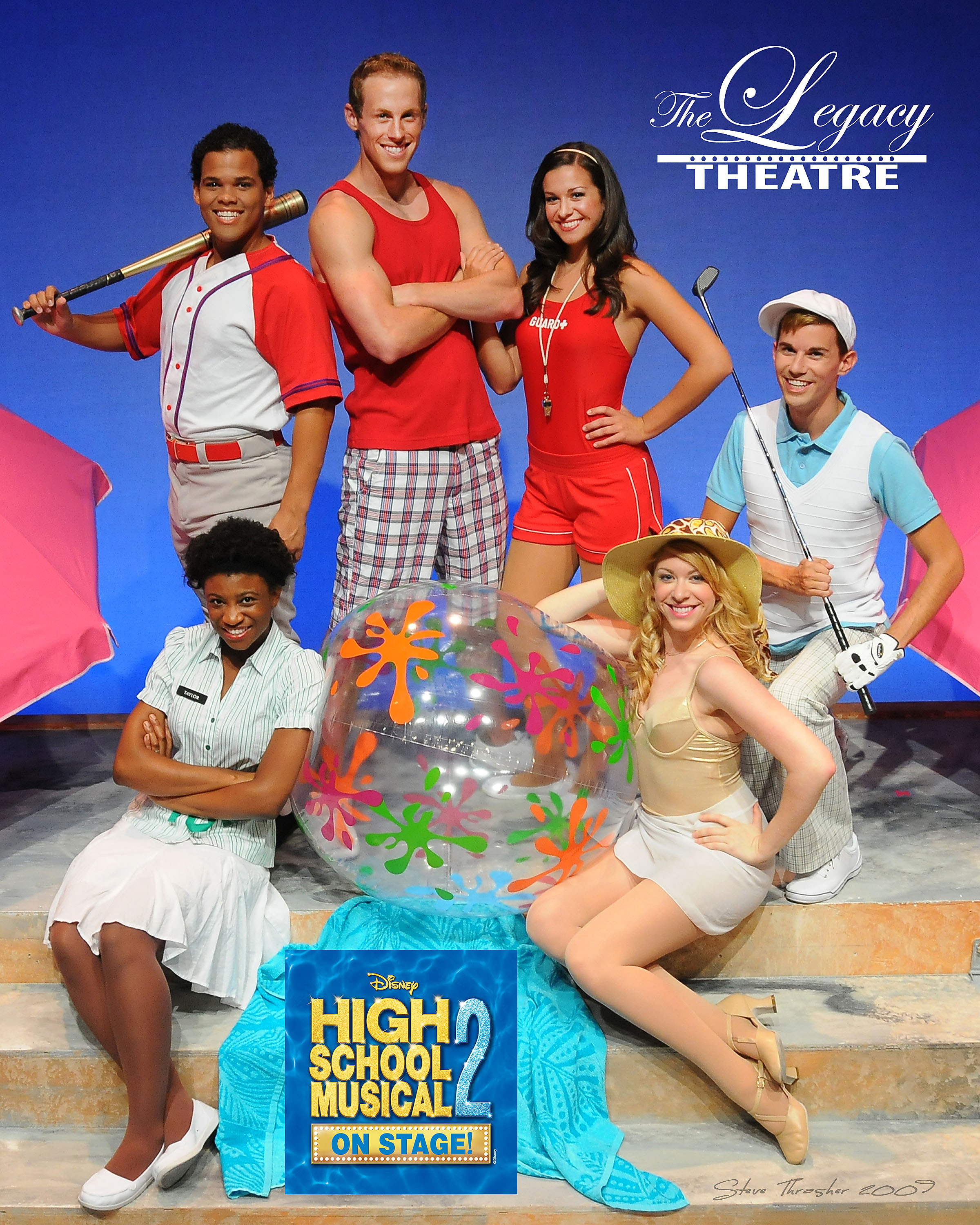 What Time is It? Time for the Legacy Theatre production of Disney's High School Musical 2!