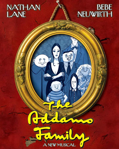 Mann, Carmello, Chamberlin, Hoffman, James and More Join Lane and Neuwirth in THE ADDAMS FAMILY