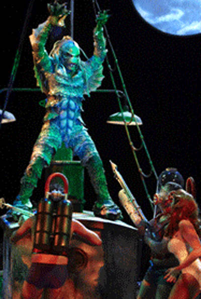 Universal Studios Hollywood Unleashes 'Creature from The Black Lagoon - A Raging Rockin' Show' 7/1