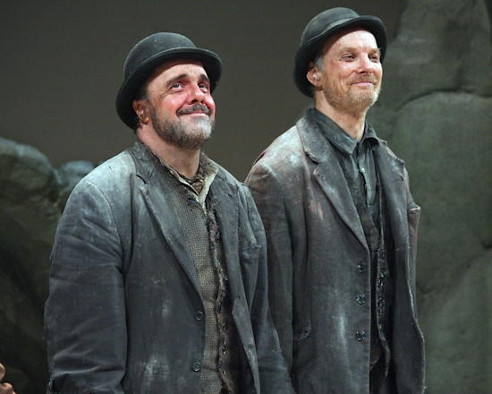 WAITING FOR GODOT's Lane & Irwin Talk 'Existentially' to NY Post