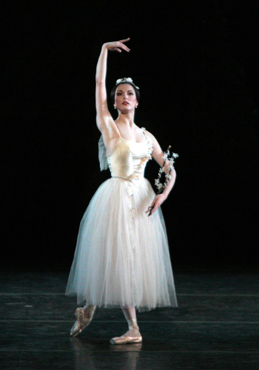 Veronika Part as Myrtha. Source: Broadwayworld.com. Copyright belongs to its respective owners.