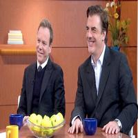 STAGE TUBE: Kiefer Sutherland, Chris Noth Visit GOOD MORNING AMERICA