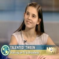 STAGE TUBE: WONDERLAND's  Carly Rose Sonenclar Visits WHAT'S THE BUZZ