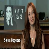 STAGE TUBE: Sierra Boggess Talks MASTER CLASS and '30 Under 30' Program