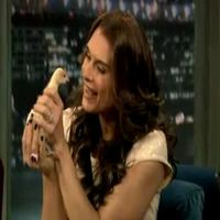 STAGE TUBE: Brooke Shields Visits Jimmy Fallon!