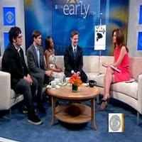 STAGE TUBE: BOOK OF MORMON Stars Visit THE EARLY SHOW!