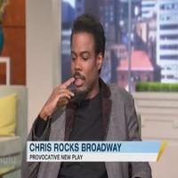 STAGE TUBE: MOTHERF**KER's Chris Rock Visits GMA