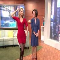 STAGE TUBE: CHICAGO's Christie Brinkley Dances on GMA